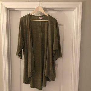 LuLaRoe Grey Lindsay Shirt